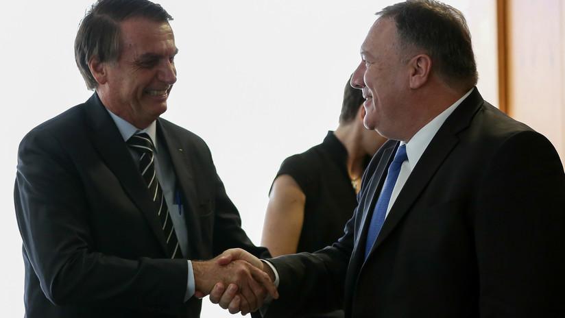 Bolsonaro no descarta la posibilidad de abrir una base militar de EE.UU. en Brasil