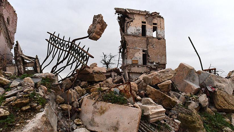 Reportan en Siria 10 civiles muertos en bombardeo de la coalición liderada por EE.UU. en Deir ez Zor