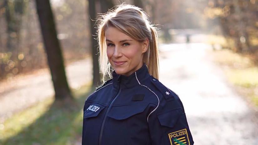 'La policía más guapa de Alemania' anuncia si eligió Instagram o trabajo tras ultimátum de sus jefes