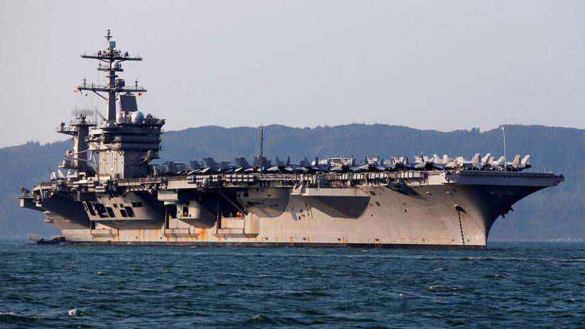 """""""Hundir dos portaaviones de EE.UU"""": Las polémicas declaraciones de un alto mando militar chino"""