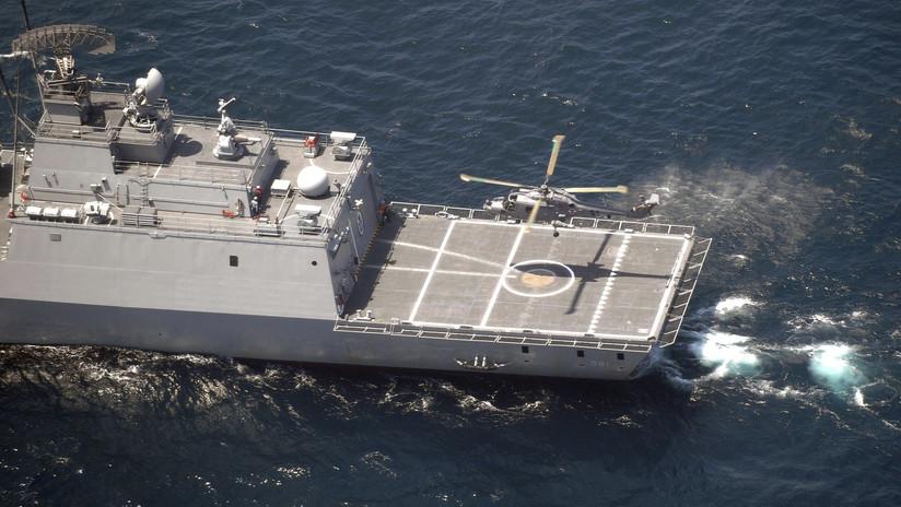 Seúl publica el video de un sobrevuelo japonés a un buque surcoreano y exige disculpas de Tokio