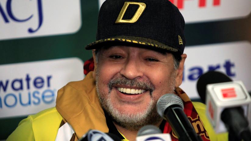 Maradona rompe el silencio sobre su salud tras su chequeo médico