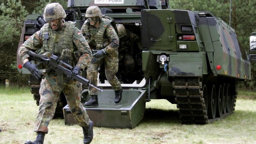 El Ejército alemán estará completamente equipado para el combate dentro de 12 años