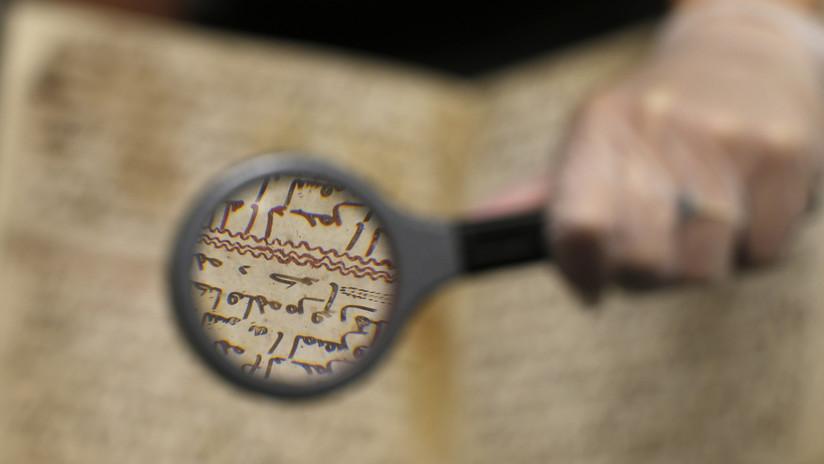 FOTO: Los deberes de un niño de hace 1.800 años serán exhibidos por primera vez en cuatro décadas