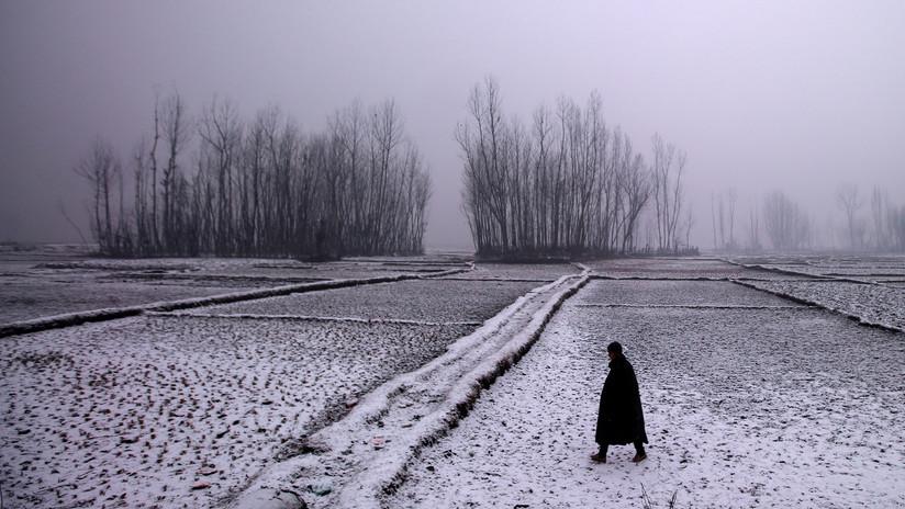FOTOS: Un frío anómalo golpea el sudoeste de la India