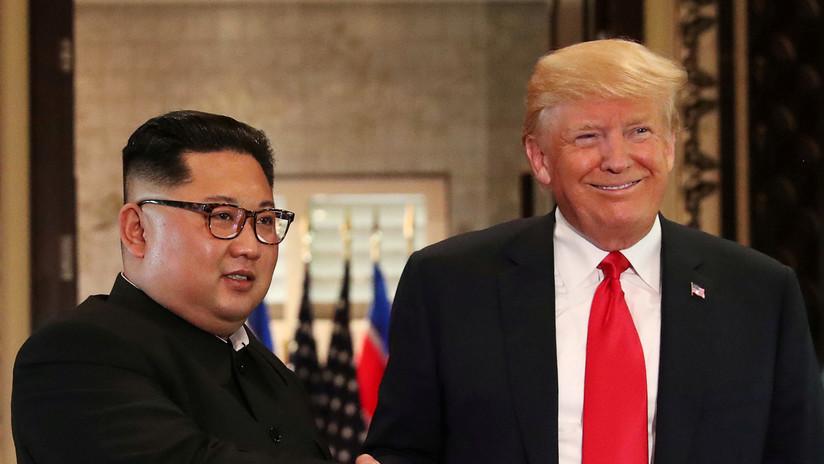 Trump afirma que EE.UU. y Corea del Norte negocian el lugar de la próxima cumbre con Kim Jong-un