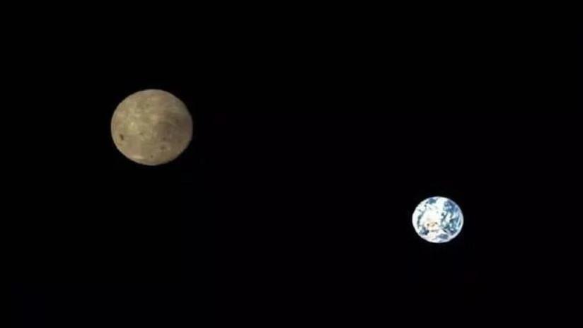 FOTOS: Publican espectaculares imágenes de la Tierra y la Luna, hechas durante la misión Chang'e-4