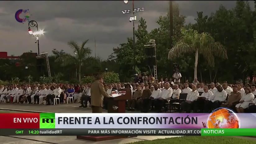 """Raúl Castro: """"Tenemos disposición a convivir civilizadamente en una relación de paz con EE.UU."""""""