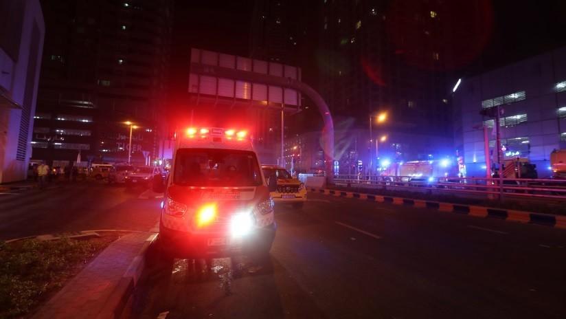 VIDEOS: El rascacielos residencial La Antorcha se incendia por tercera vez en Dubái