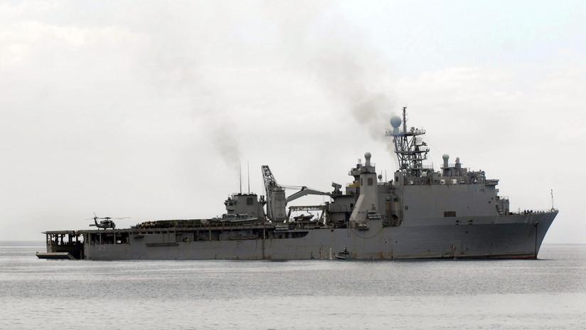 El buque de asalto anfibio enviado por EE.UU. para apoyar a la OTAN entra al mar Negro