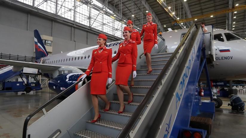 EE.UU. bloquea el suministro de aviones rusos Sukhói SuperJet 100 a Irán