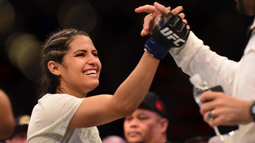 Intenta robarle a una luchadora de la UFC y acaba en urgencias