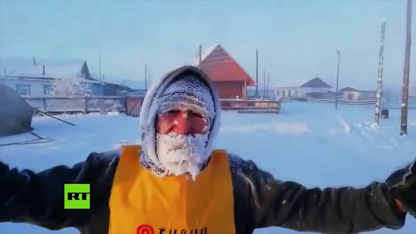 VIDEO: La localidad más fría del mundo acoge el primer maratón extremo internacional