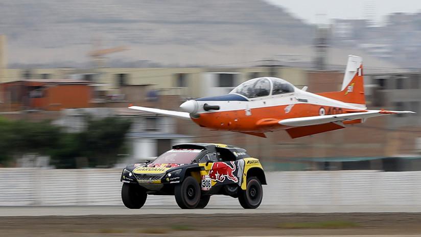 ¿Qué es más veloz, el auto de Sébastien Loeb o un avión de la Fuerza Aérea de Perú?