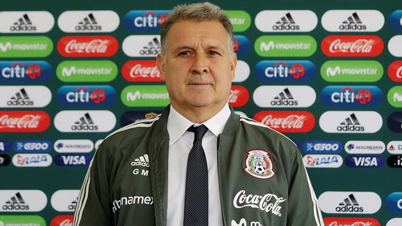 Gerardo 'Tata' Martino es presentado como nuevo entrenador de la selección de fútbol de México