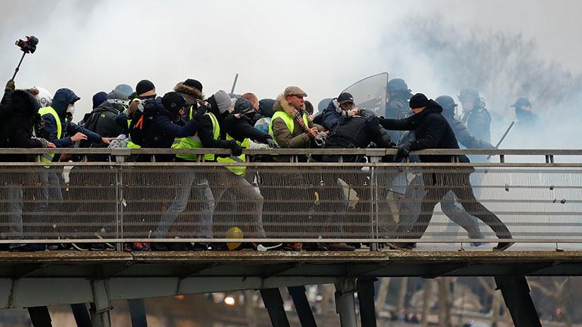 Francia: El Gobierno endurecerá la respuesta ante protestas no autorizadas