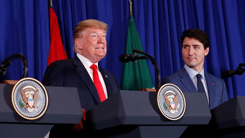 """Trudeau y Trump denuncian la """"detención arbitraria"""" de dos canadienses por parte de China"""