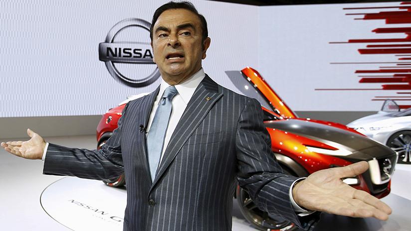 El expresidente de Nissan se declara inocente en su primera aparición pública tras el arresto