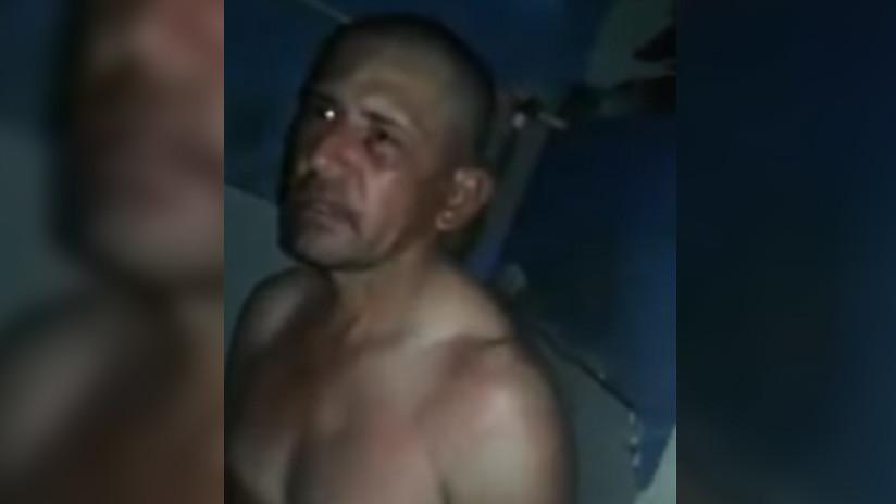 Colombia: Reos pegan e insultan al violador asesino de una niña mientras lo graban (VIDEO)