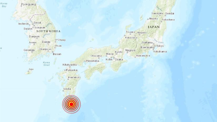Se registra un sismo de magnitud 6,3 en una isla de Japón