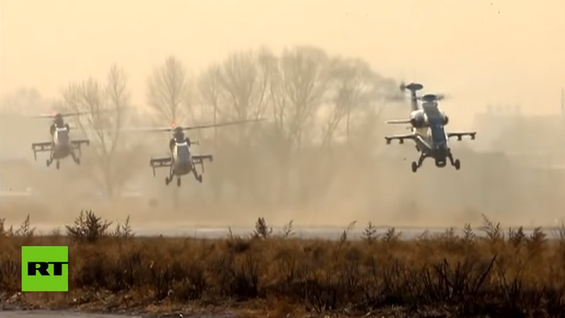VIDEO: China lanza sus primeras maniobras aéreas de 2019