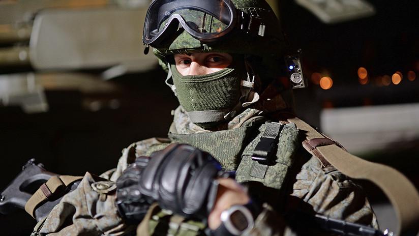 El equipamiento ruso de los 'soldados del futuro' incorporará sistemas robóticos y drones