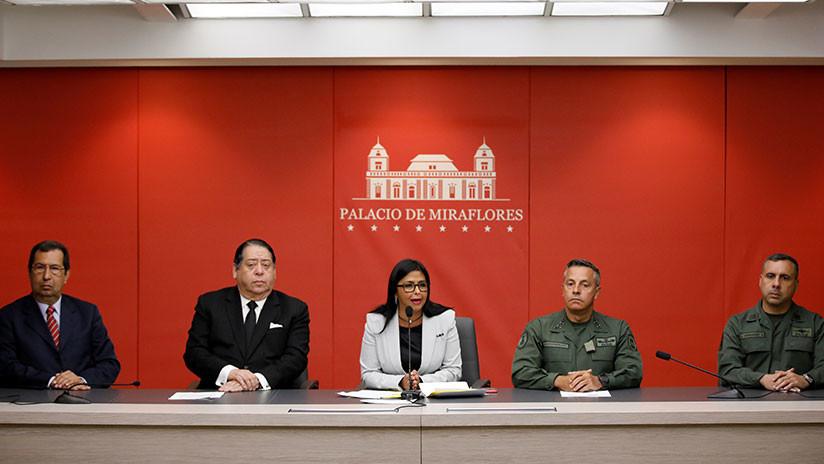Venezuela acusa a Guyana de mentir sobre incursión de buques en sus aguas territoriales