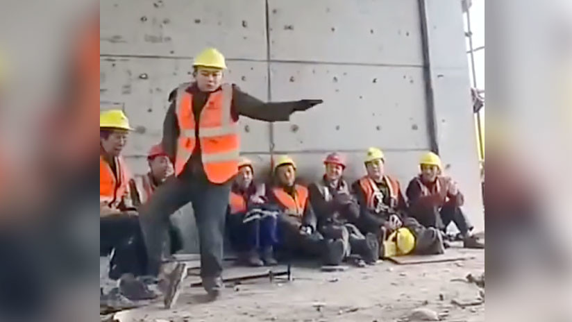VIDEO: ¿Habrá Michael Jackson 'reencarnado' en este constructor?