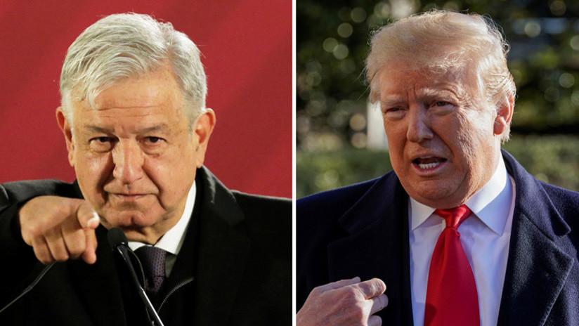 """López Obrador sobre el muro fronterizo: """"Es un asunto interno de EE.UU."""""""