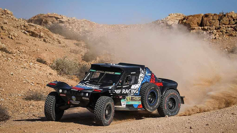 VIDEO: Impactante choque de buggys en el Africa Eco Race 2019