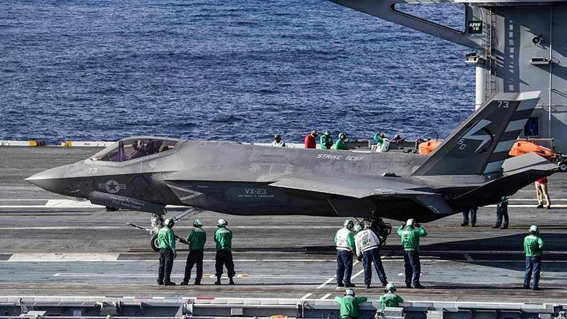 El jefe interino del Pentágono critica de manera grosera el programa de fabricación de cazas F-35