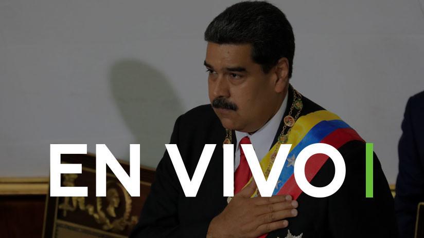 EN VIVO: Maduro jura su cargo ante el Tribunal Supremo de Justicia