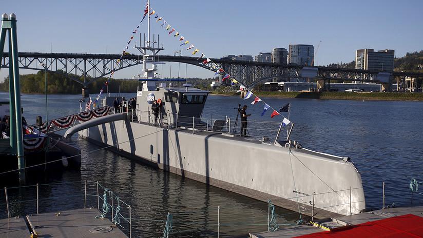La Marina de EE.UU. corre un velo de secretismo sobre el buque de guerra Sea Hunter
