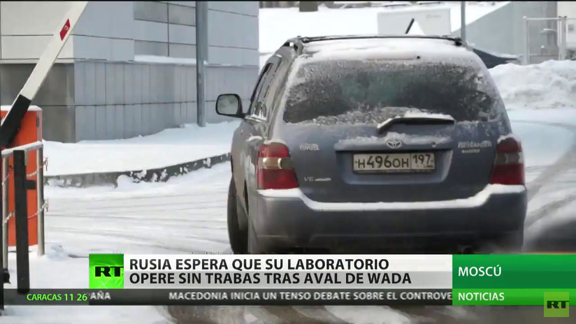 Rusia confía en el aval de la WADA para que su laboratorio antidopaje opere sin trabas