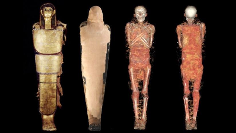 Arqueólogos españoles revelan todos los secretos de la momia Nespamedu