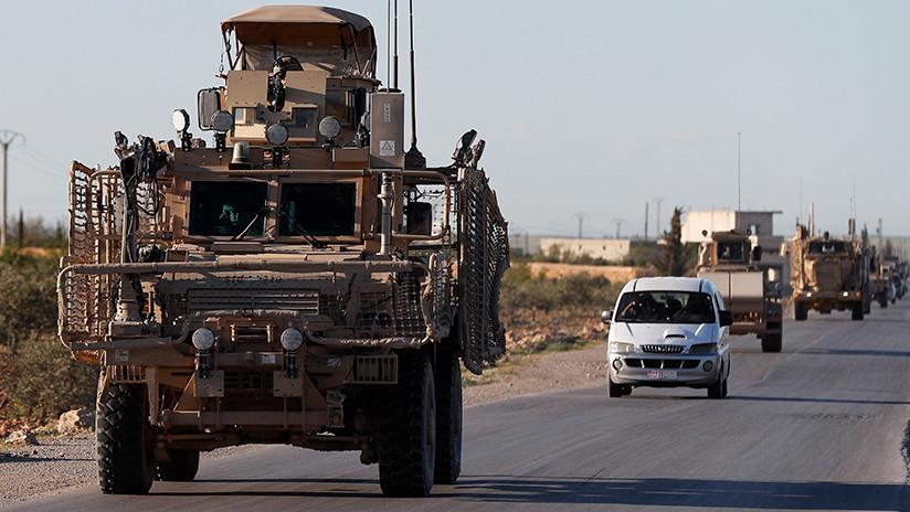 Pentágono: EE.UU. inicia la retirada de material militar de Siria, pero mantiene sus tropas
