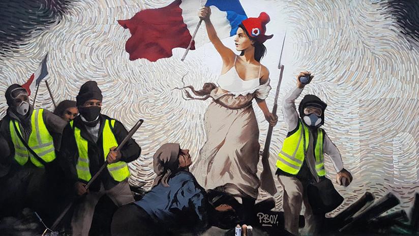 FOTO: Un grafiti 'perdido' en París esconde un puzle con bitcoines valorado en 1.000 dólares