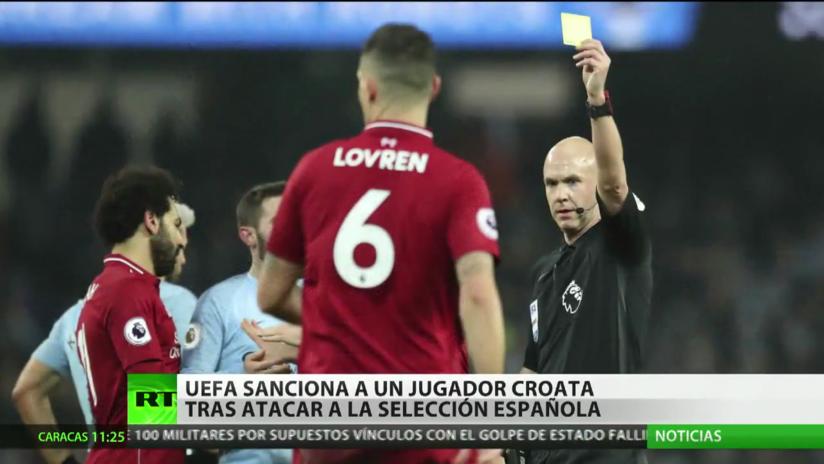 La UEFA sanciona al jugador croata que insultó a la selección española y a Sergio Ramos