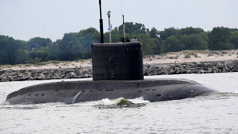 Así ve EE.UU. el submarino ruso 'Agujero Negro'