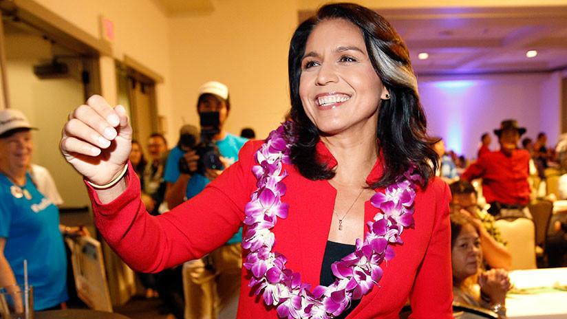 Primera congresista hindú en EE.UU.: Representante por Hawái se postulará a la presidencia en 2020