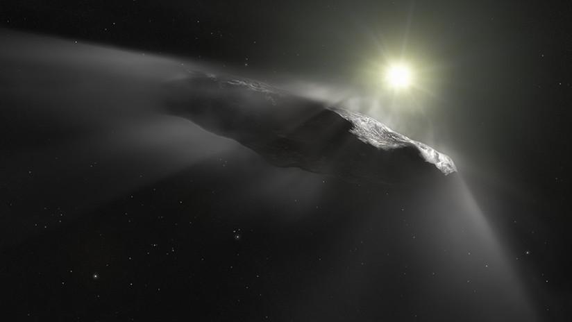 """Astrónomo de Harvard: El asteroide Oumuamua podría ser una sonda dirigida """"por seres inteligentes"""""""