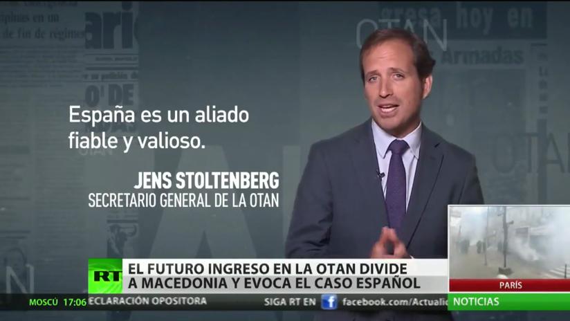 El futuro ingreso en la OTAN divide a Macedonia y evoca el caso español