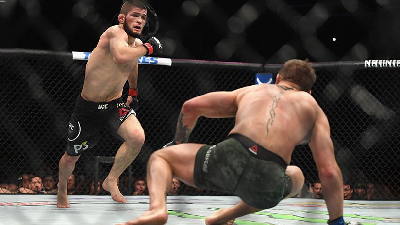 """McGregor, a Nurmagomédov durante su famosa pelea: """"No te quejes como una perra"""""""