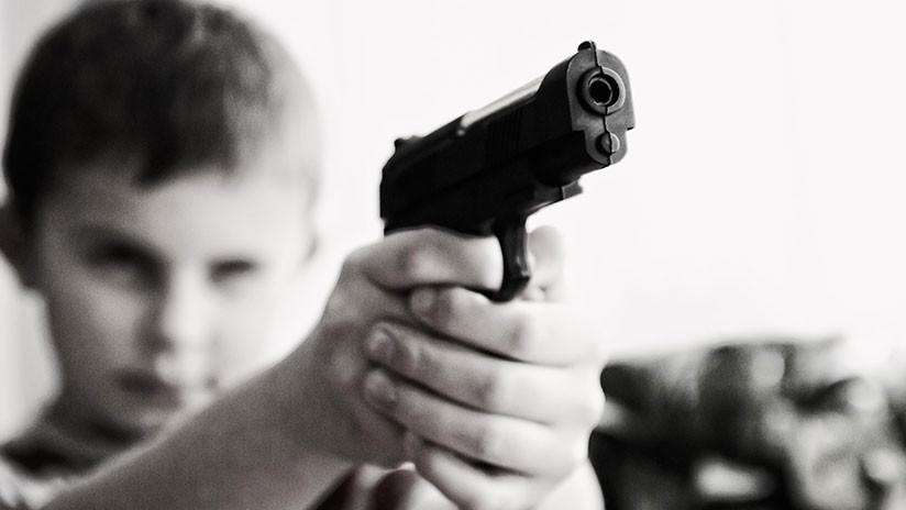 Incautan una pistola a un niño de 6 años en una escuela de EE.UU.