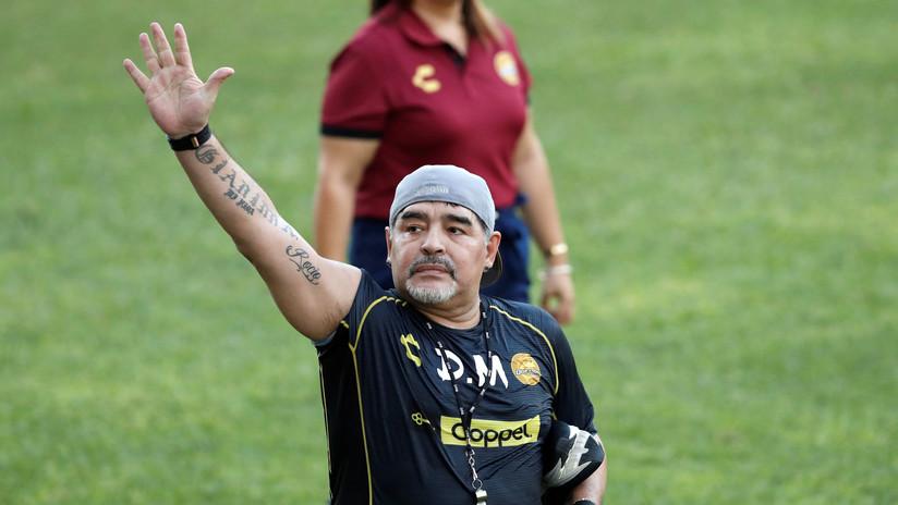 Operan a Diego Maradona por un sangrado estomacal
