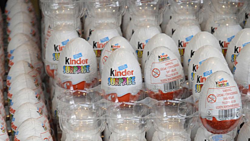 Indignación por un 'mensaje del Ku Klux Klan' en un huevo Kinder (FOTOS)