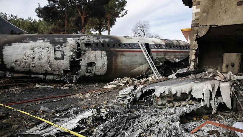 VIDEO: Un Boeing 707 de carga se estrella cerca de Teherán