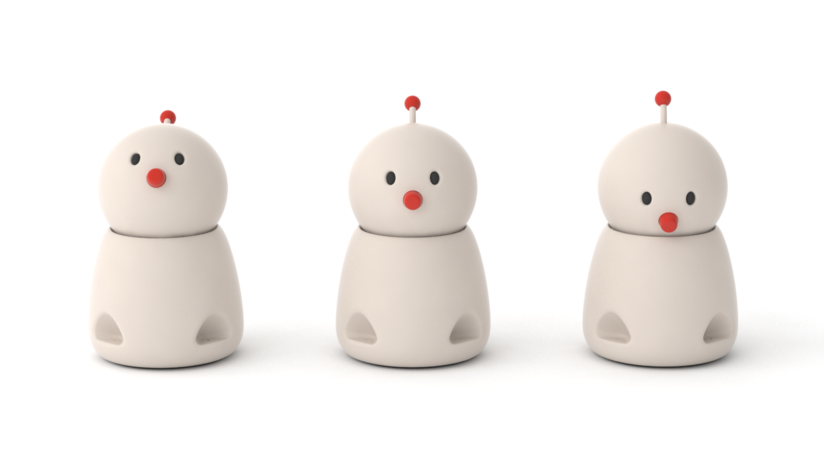 Observe cómo este robot con empatía reacciona a mensajes 'tristes' o 'alegres' (VIDEO)