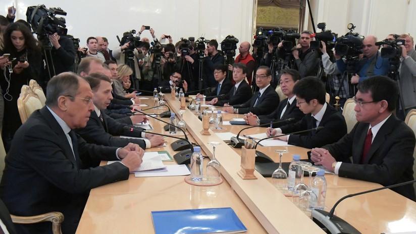 """Lavrov a Japón sobre las islas Kuriles: """"Son territorio de Rusia"""""""