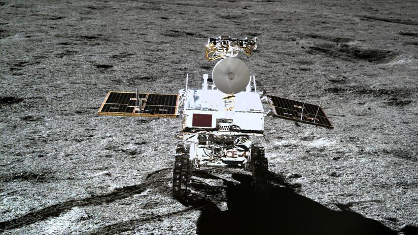VIDEO: El vehículo explorador chino Yutu-2 recorre la cara oculta de la Luna